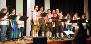 Vier Chöre begeisterten beim Sommerkonzert in Aich